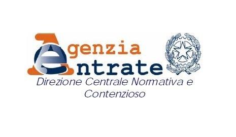 Agenzia delle Entrate - Direzione Centrale - Normativa e Contenzioso